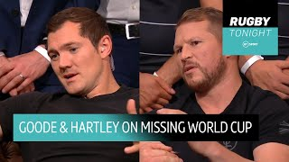 Alex Goode and Dylan Hartley open up on missing out on the Rugby World Cup
