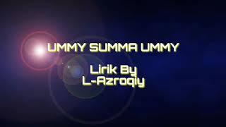 "Lirik lagu Ummi Tsumma Ummi ""Arab & Terjemah"""