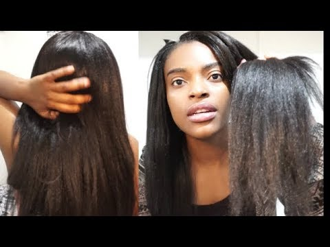 Best Straight Crochet Hair With Tips And Tricks Youtube