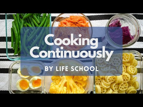Cooking Continuously | Easy Meal Prep | Five Items in One Pot of Water 🍠🥚🥦 | 5-Min 🎬
