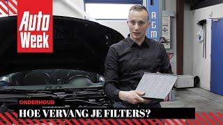 Joep legt uit - Filters - AutoWeek Onderhoud