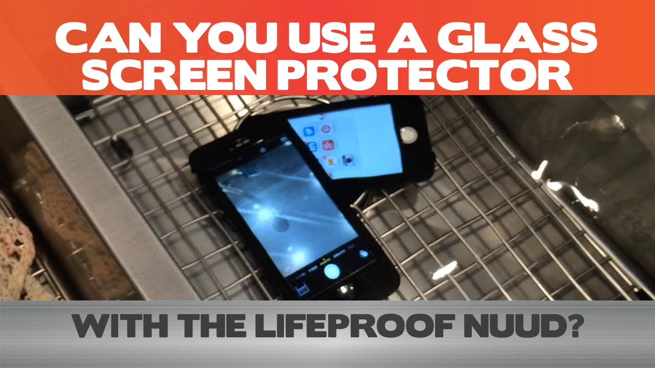wholesale dealer 6ba1f 73fde Don't use a glass screen protector with the LifeProof Nuud - Torture Tests  - iPhone 6/6 Plus