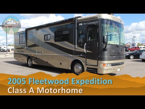 RV Rental Reviews 2005 Fleetwood Expedition Class A Diesel Pusher Motorhome Hire