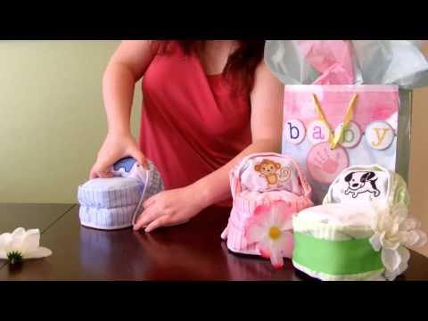 How To Make Diaper Cake