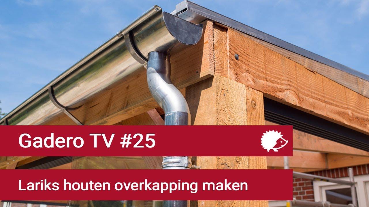 25 Lariks Houten Overkapping Maken Met Polycarbonaat Platen Dak
