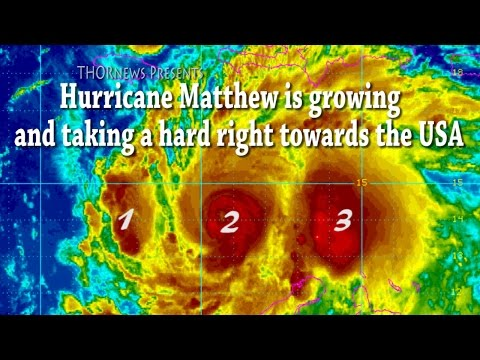 Potentially Catastrophic Hurricane Matthew is Growing & a Major Threat to USA