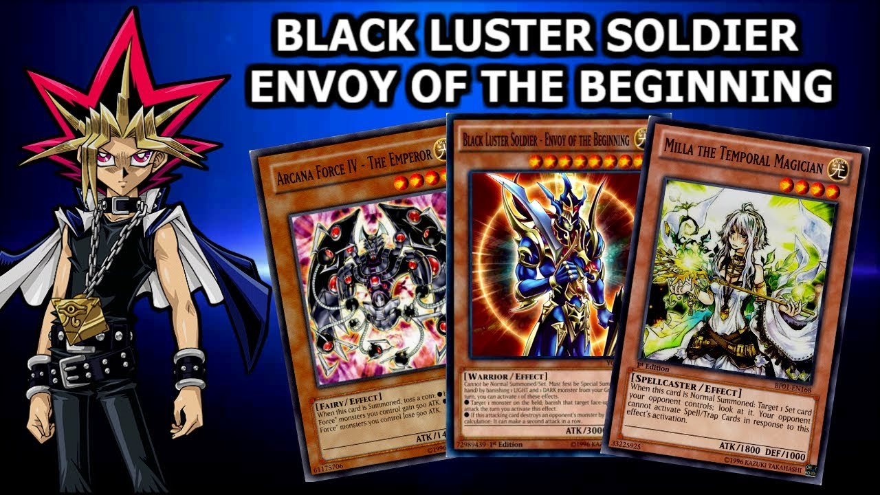 Yu-Gi-Oh! Power of Chaos - The Legend Reborn - BLACK LUSTER SOLDIER DECK