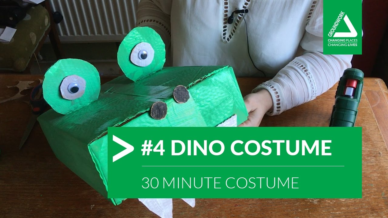 30 minute costume challenge 4 dinosaur crocodile youtube 30 minute costume challenge 4 dinosaur crocodile solutioingenieria Image collections