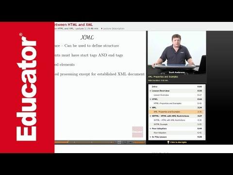 XML: Relationship Between XML & HTML