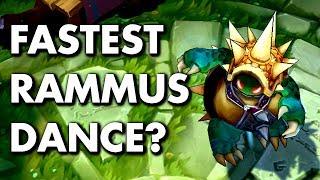 Baixar RAMMUS SUPER FAST DANCE! Test with Movement Speed!