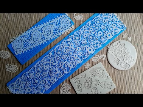 5 Ingredients Easy Sugar Lace Recipe from Scratch - Tutorial