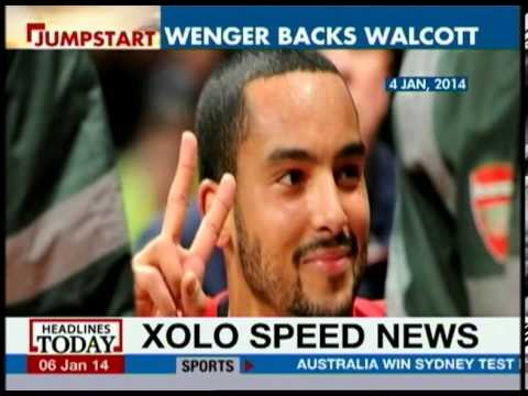 FA: Walcott was reacting to coins thrown at him: Wenger
