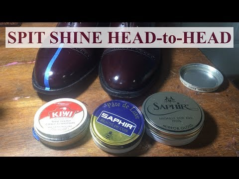 Kiwi Vs Saphir: Spit Shine Head To Head!