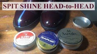 Kiwi vs Saphir: Spit Shine Head to Head!