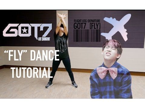 "GOT7 (갓세븐) ""Fly"" Dance Tutorial 