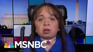 Medically Fragile Immigrant Appeals To Congress In Fight For Life | Rachel Maddow | MSNBC