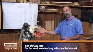 Woodworker's Guild Of America - Shop-made Curved Molding Using Klockit's Grandfather Clock