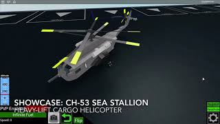 Vitrine Roblox : Ch-53 Sea Stallion et Operation Eagle Claw