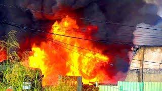 Cháy Lớn Ở Quận 12 - Toàn Cảnh Vụ Cháy Kinh Hoàng Ngày Hôm Nay