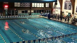 WHS v Bridgewater 400M Relay Free Girls 2014
