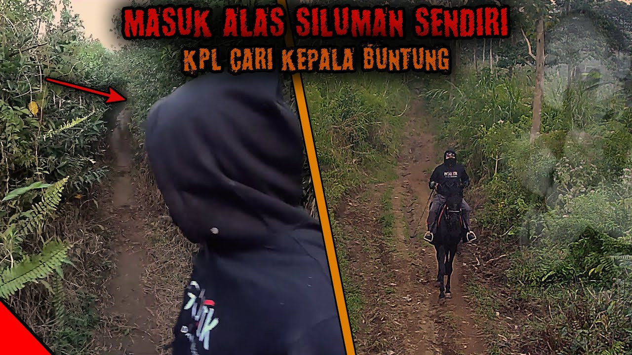 KPL BERKUDA MASUK HUTAN SENDIRIAN CARI KEPALA BUNTUNG | PART 1