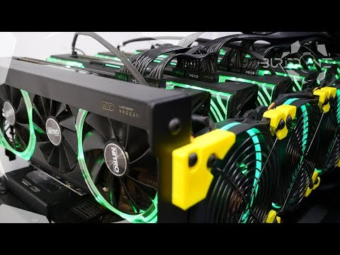 6-GPU Lɪᴍɪᴛᴇᴅ Eᴅɪᴛɪᴏɴ RX Vega Mining Rig Build