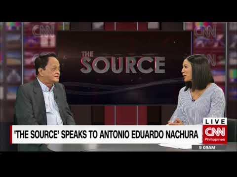'The Source' speaks to Antonio Eduardo Nachura