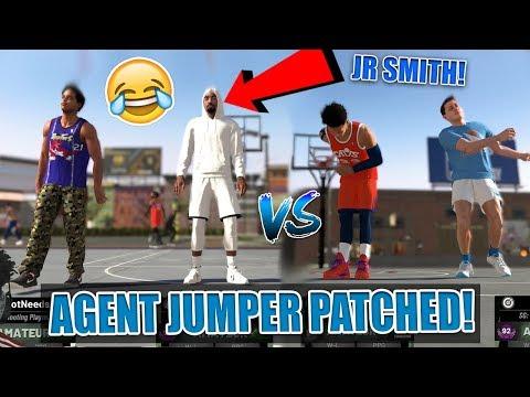 LSK & Mike Korzemba vs. Agent 00, JR Smith & Troydan! AGENT PATCHED! NBA 2K19 Park
