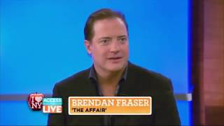 Brendan Fraser Reacts to The Mummy (2017)