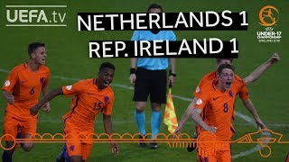 U17 quarter-final highlights: netherlands v rep. ireland