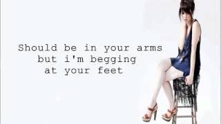 Carly Rae Jepsen Tonight Im Getting Over You Lyrics HD