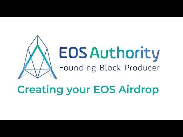 Complete guide to creating an EOS airdrop