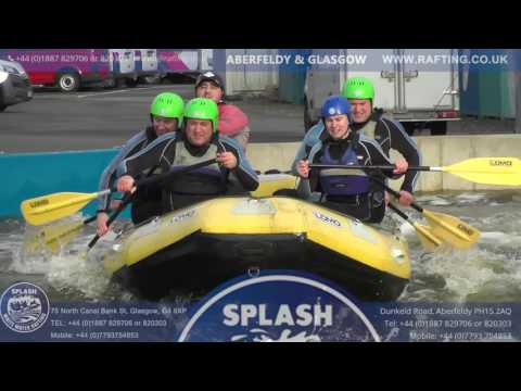 Glasgow Rafting with Splash White Water