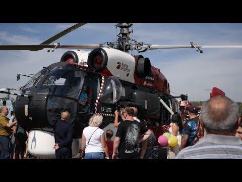 17 августа в Кумертау прошли празднования Дня воздушного флота