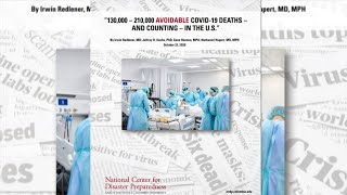 Poor U.S. COVID-19 response results in 130,000-210,000