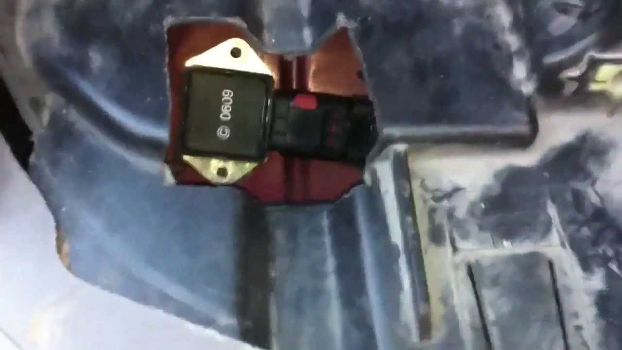 Replacing the fan relay on 00  03 Jeep Grand Cherokee