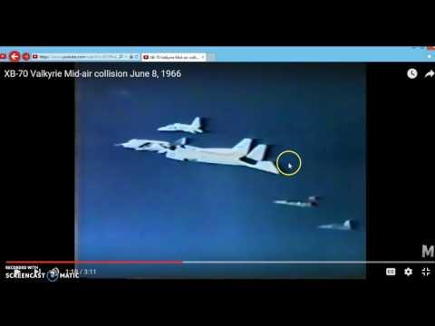 UFO near XB70 crash