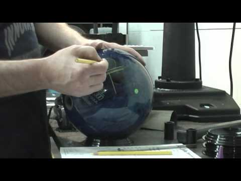 Drilling the Fingers of a Bowling Ball - Innovative Bowling