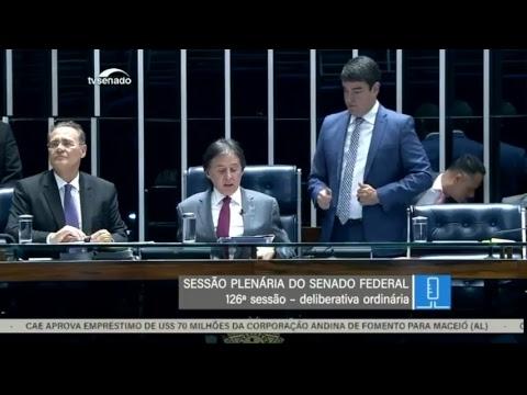 TV Senado ao vivo - Sessão Deliberativa - 30/10/2018