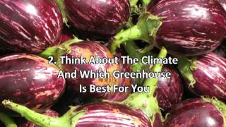 Tips For Lean To Greenhouse Plans