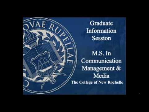 CNR Graduate School- MS in Communications and Media Management