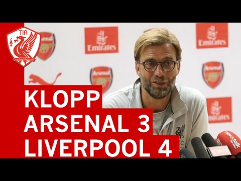Arsenal 3-4 Liverpool: Jurgen Klopp's Post-Match Press Conference