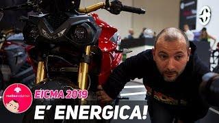 EICMA 2019 quest'anno è ENERGICA ! 2 ruote 100% Elettriche made in italy!