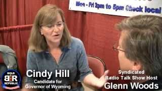 Interview with Cindy Hill Candidate for Governor Wyoming