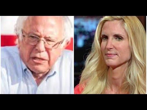 Bernie Sanders Defends Ann Coulter?