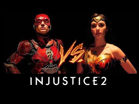 Injustice 2 - Justice League Movie The Flash vs. Wonder Woman