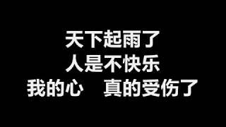 张学友 - 我真的受伤了 [歌词]