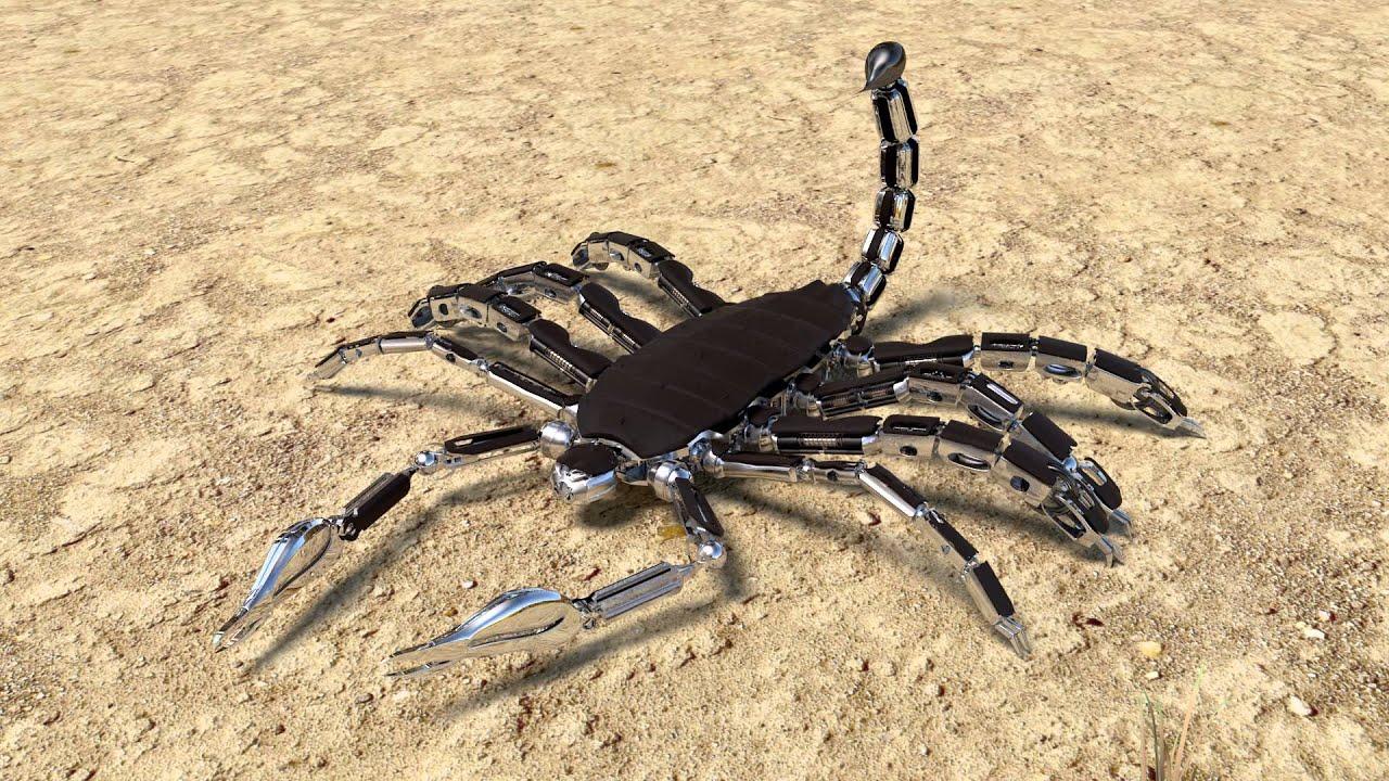 Scorpion Animation Walk - YouTube