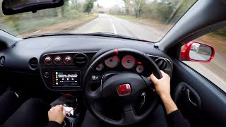 Here's What the Honda Integra TYPE R DC5 is Like to Drive!