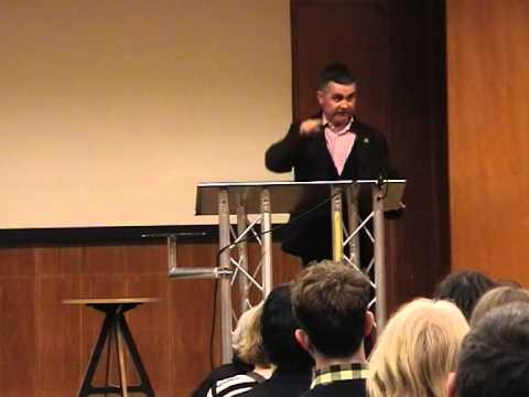 Dominic Dyer's Animal Aid Christmas Fayre Lecture on the Badger Cull